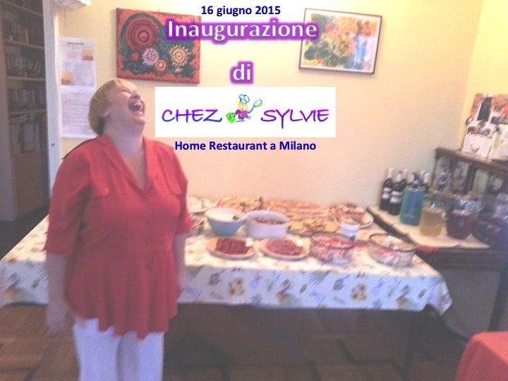 Cena buffet per l'inaugurazione dell'home-restaurant da ChezSylvie.it