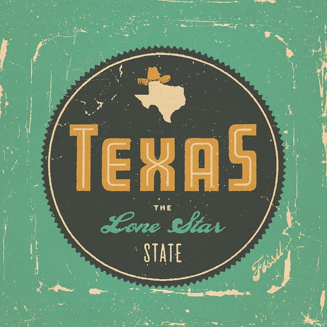 Flickr: Brent Couchman's Photostream: Colors Pallets, Fossil Watches, Graphics Design, Watches Tins, Stars States, Tins Packaging, Texas Girls, U.S. States, Lonely Stars