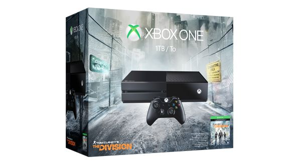 Xbox One Tom Clancy's The Division Bundle (1TB)★★★★★ OfferPrice:: $299.00 (was $349.00) save $50.00  The Xbox One Tom Clancy's The Division Bundle Deal includes: 1.1TB Xbox One console2 2.Xbox One wireless controller with 3.5mm headset jack 3.Tom Clancy's The Division full game download 4.14-day Xbox Live Gold trial