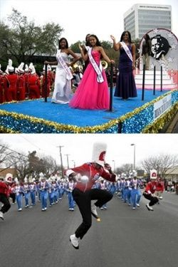 The MLK Grande Parade Is One Of The Largest Single Day Multicultural Events In The U.S. That Commemorate The MLK National Holiday Observance. The Parade Will Be Held On January 18, 2016 In Houston's Midtown Originating On San Jacinto Street & Elgin Street Beginning @ 10A (CST). To Learn More Visit http://www.mlkgrandeparade.org Or Call 713-953-1633