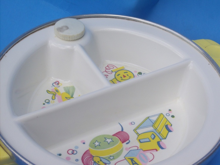 Vintage Insulated Baby Food Warmer Dish by aprilmay72 on Etsy $12.00 & 32 best baby dishes images on Pinterest | Dish sets Dishes and Baby ...