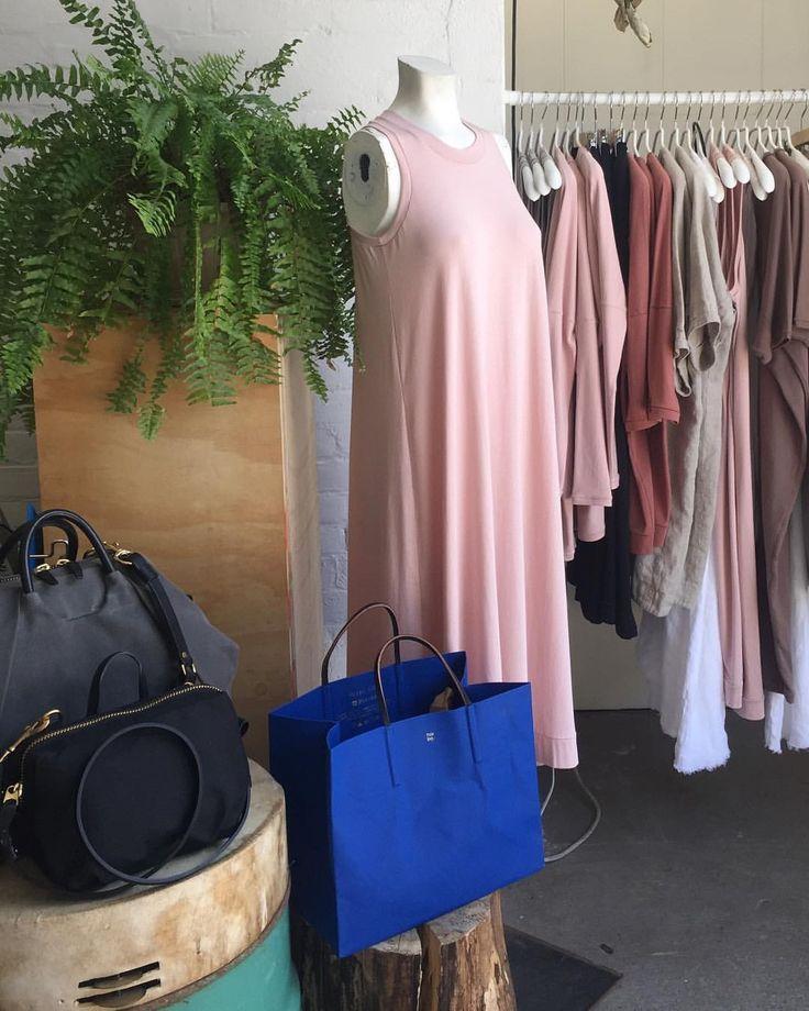 Summer essentials- Jersey A-Frame in Blush.