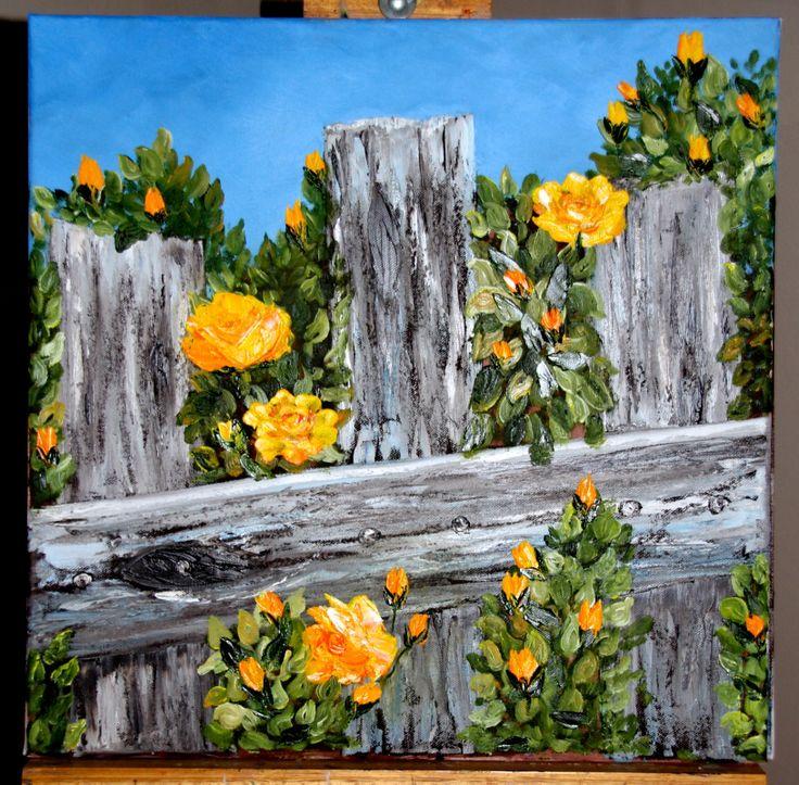 #Yellow Roses Artist: Desire Hanekom