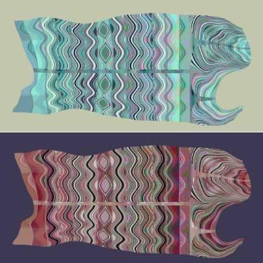 "Saatchi Art Artist Alexandru Ilea; New Media, ""Pisces"" #art"