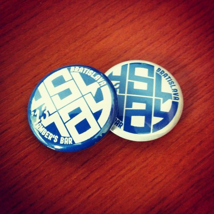 Foursquare Day Bratislava 2013 Buttons