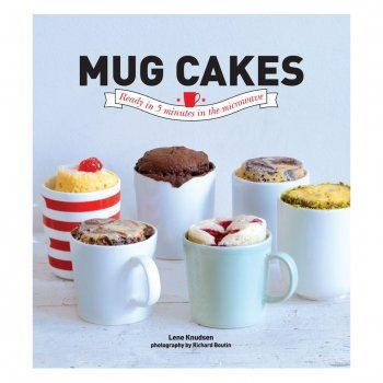 Fancy a cake, that you don't have to share....right now!?! Then this delicious Mug Cakes Recipe Book by Lene Knudsen is for you! Featuring over 30 quick and scrumptious sweet treats that require minimal effort and time, you can easily feed your cake craving as soon as it strikes! All you need is a 5 minutes to spare and a microwave! A brilliant gift idea for any cake lover.