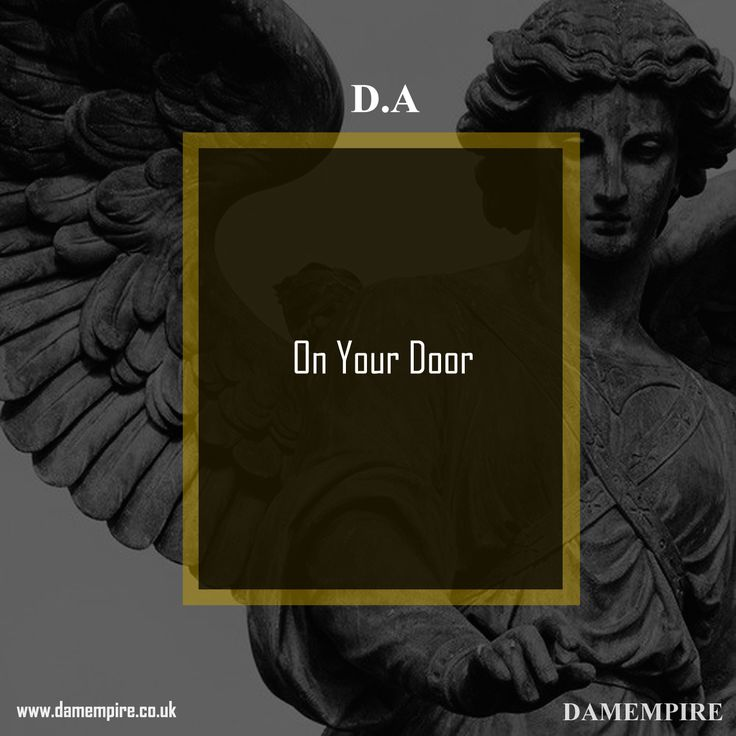 D.A - On your door Check out this new post from #DAMEMPIRE #INSTRUMENTALS #BEATS #MUSIC