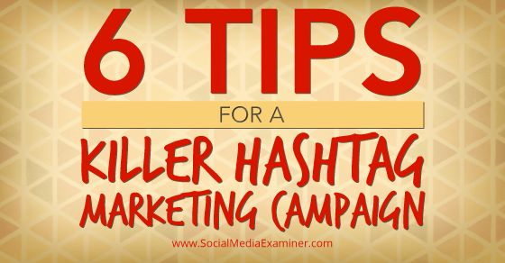 Does your company use hashtag campaigns? Would you like to get the most out of your hashtag campaigns? In this article you will discover…