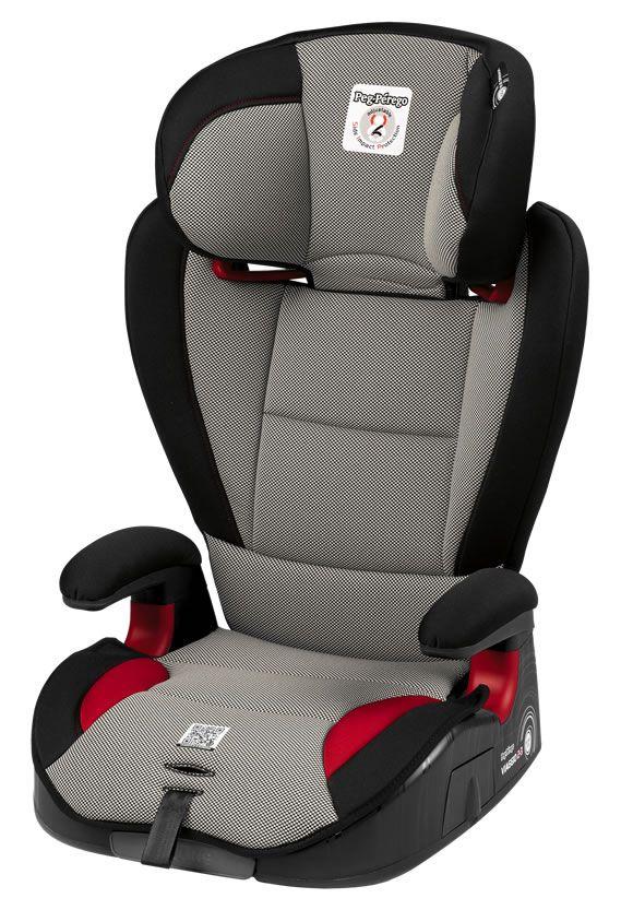 Next step. Il seggiolino che segue la crescita del tuo bimbo.    Il seggiolino  Viaggio 2-3 Surefix  si può utilizzare per un arco di tempo  superiore rispetto agli altri seggiolini auto  perché è omologato  da 3 a 12 anni  (da 15 a 36 kg).