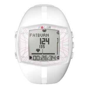 Polar Ft40F Women's Heart Rate Monitor Watch (White)