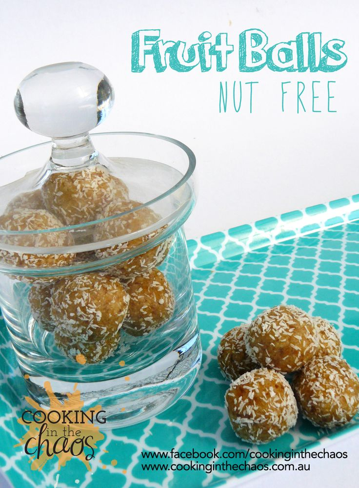 Fruit Balls - Thermomix