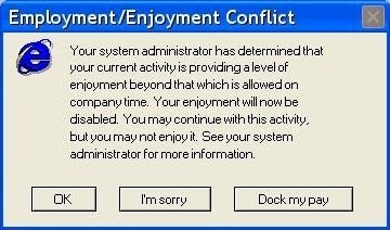 FUNPIXs: Funny computer Error Messages (JUST for Fun)