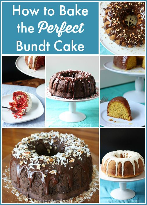 How to bake the PERFECT Bundt cake - it's not as hard (or easy) as it looks!