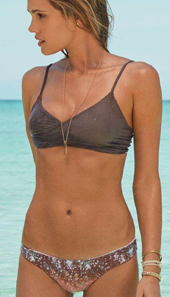 love this neutral bikini