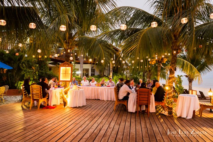 Top Ten Reasons to Get Married in Belize. Placencia Luxury Belize Wedding Chabil Mar Boutique Resort. Photographer: Jose Luis Zapata Photography