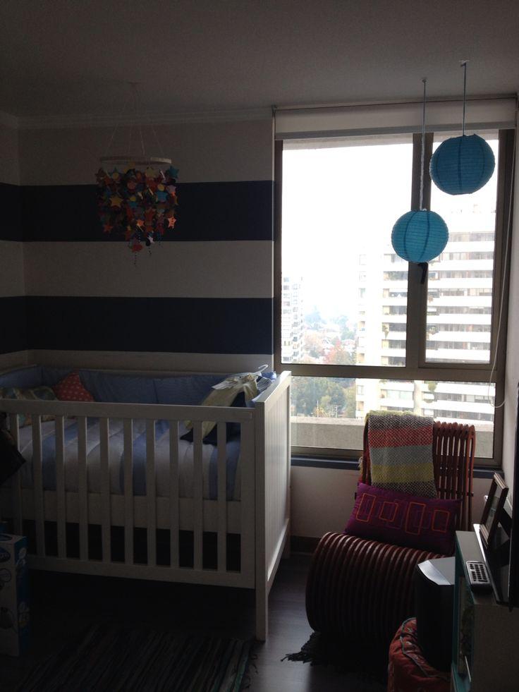 Diseño dormitorio bebe Nursery