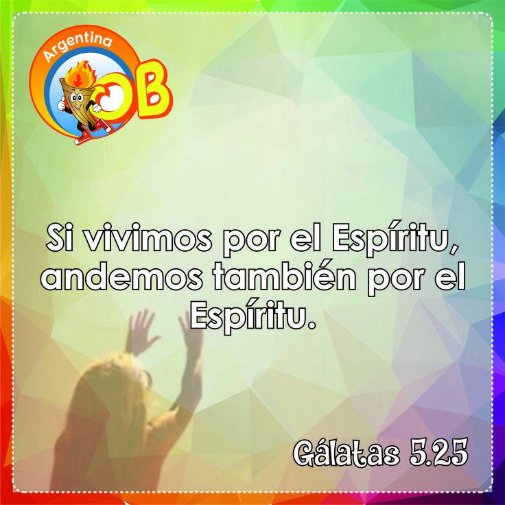 Gálatas 5.25