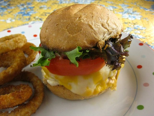 The Classic All-American Burger is Delicious, Juicy, and Perfectly Cooked: All-American Burgers