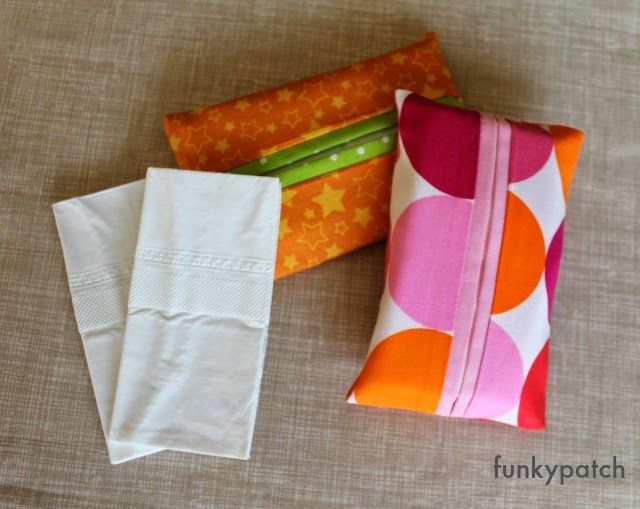 tutorial funda pañuelos de papel