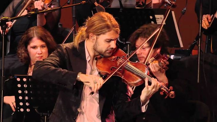 "David Garrett EPK ""Rock Symphonies - Open Air Live"" - mit Statements"