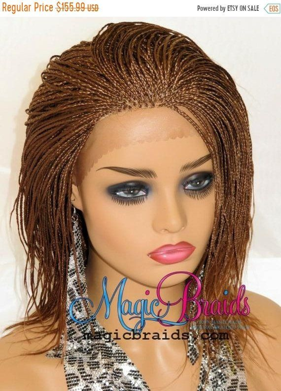 Micro Millions Braids Braided Lace Front Wig Braided Wig For Lace Front Wigs Wigs Braids With Extensions
