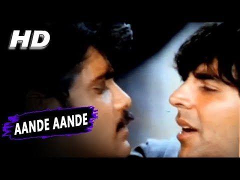 Aande Aande |Udit Narayan Amit Kumar Alka Yagnik Aadesh Shrivastava| Angaaray Songs | Akshay