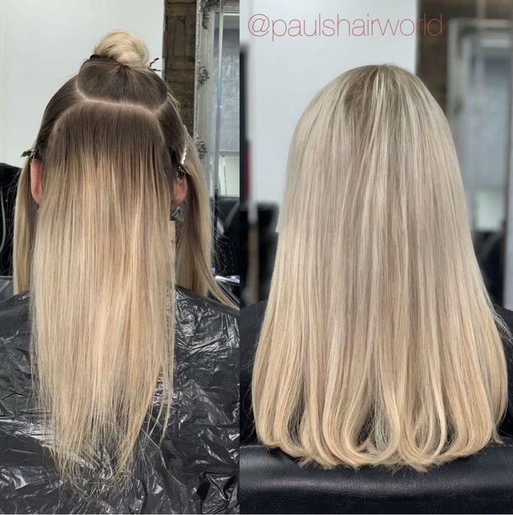 H A I R – G O A L S Before & After of 2 rows by C…
