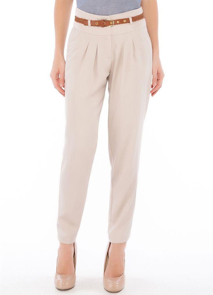 Женские брюки с защипами