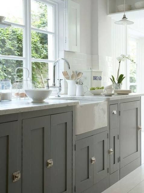 cabinets and apron front sink for the home pinterest. Black Bedroom Furniture Sets. Home Design Ideas