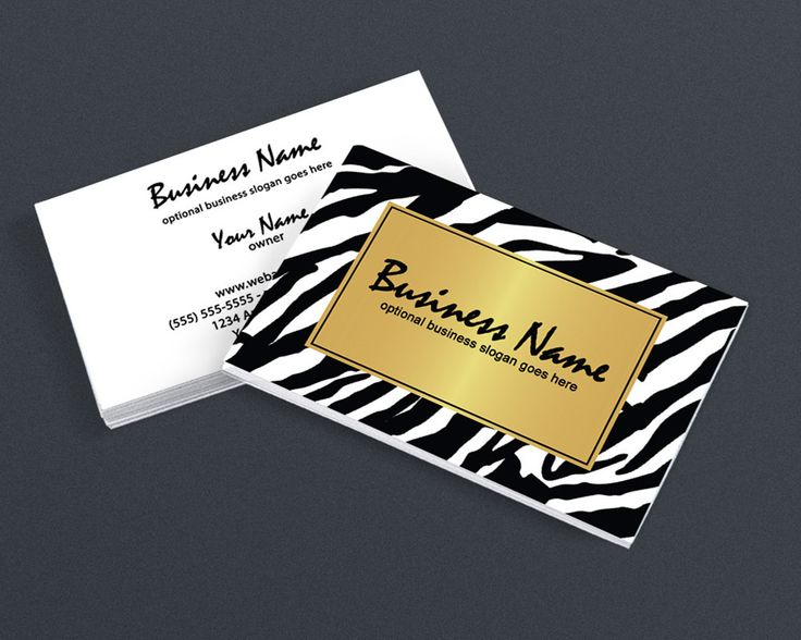 47 best creative business card designs images on pinterest 2 sided business card design golden zebra accmission Gallery