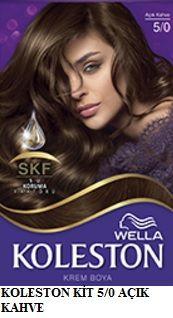 Koleston 2017 Saç Renk Kartelası - Koleston açık kahve saç boyası