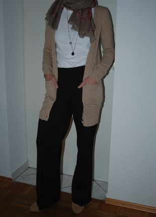 Kaufe meinen Artikel bei #Kleiderkreisel http://www.kleiderkreisel.de/damenmode/hosen-sonstiges/118655606-braune-marlene-dietrich-hose-gr-38-blinddateblogger