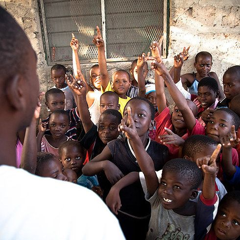 Volunteering at a local school in Africa. | 10 Trips To Take That Will Actually Teach You Something