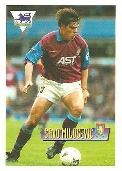 1996-97 Merlin's Premier League #6 Savo Milosevic Front