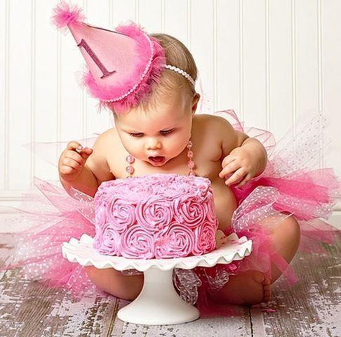 Ensaio Fotográfico de Bebês: Smash The Cake