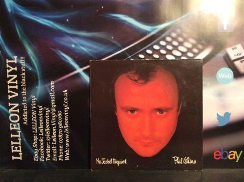 Phil Collins No Jacket Required LP Album Record Vinyl V2345 Pop 80's Virgin Music:Records:Albums/ LPs:Pop:1980s