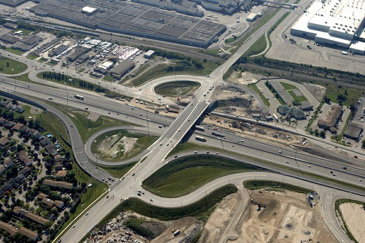 #AerialPhotography of Highway Junction #Construction #AerialPhotographer #Aerial [BP imaging - Bochsler Photo Imaging]