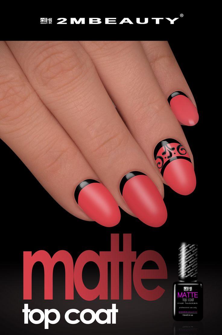 2mbeauty new gel lacks and matt top coat for nails