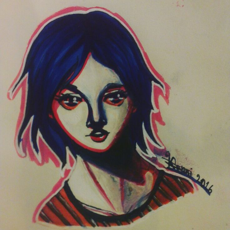 Oh, look, I accidently made her a stoner. (3 marker challenge)