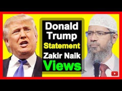 Dr Zakir Naik Latest Speech 2017 About Donald Trump ❤ NEWS ❤ READ DESCRI...