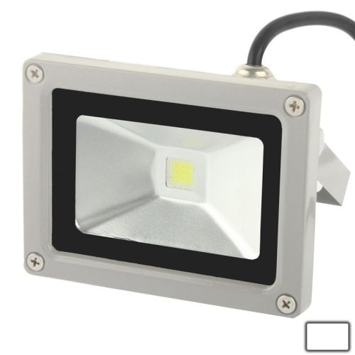 [USD6.23] [EUR5.61] [GBP4.39] 10W High Power White LED Floodlight Lamp, AC 85-265V, Luminous Flux: 900lm