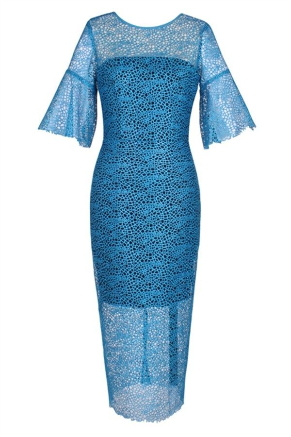 Tracery Dress with Sleeve