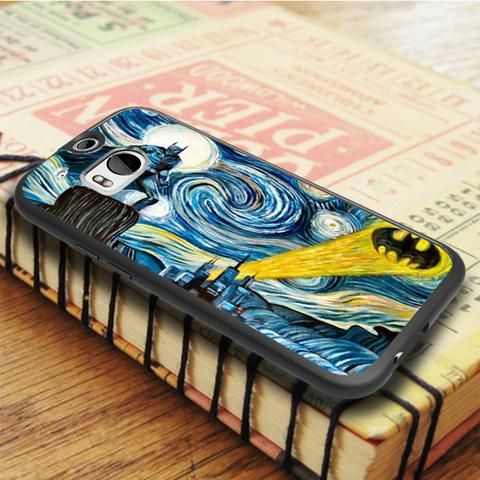 Vincent Van Gogh Starry Night HTC One M8 Case