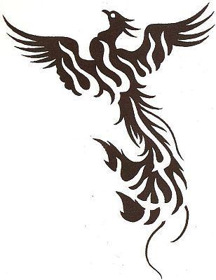 Tatoo google and search on pinterest for Fenix tribal tattoo