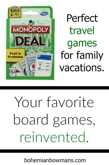 If you're looking for travel games for kids or family vacation games, you need to check these out.