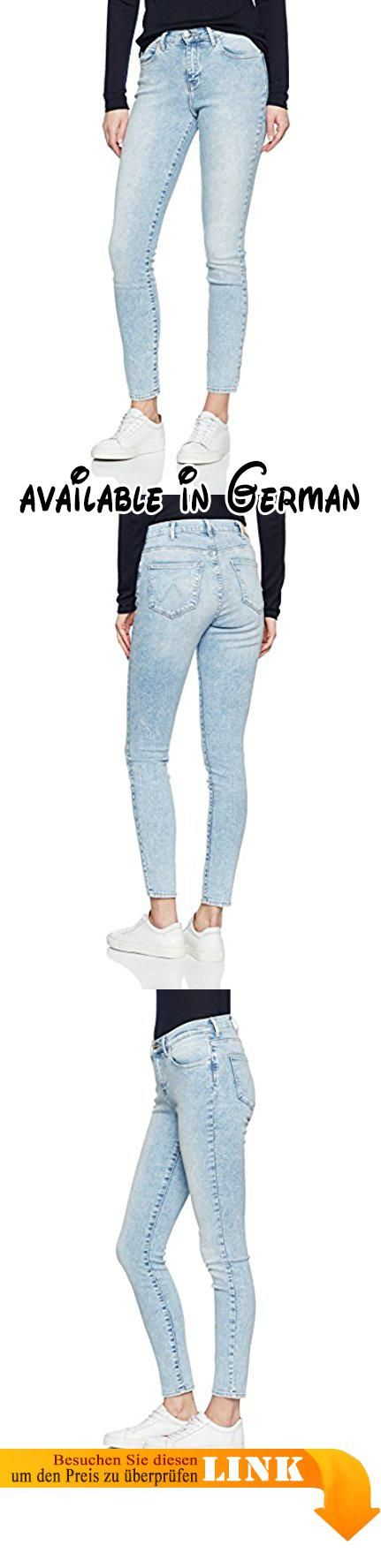 Wrangler Damen Skinny Jeanshose HIGH W27HKY86G, Gr. W30/L28, Blau (Light Marble Light Blue). Skinny #Apparel #PANTS