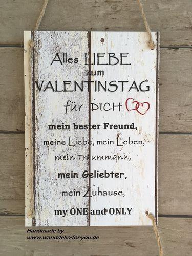 Valentinstag für IHN
