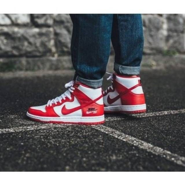 NIKE SB ZOOM DUNK HIGH PRO   Nike sb zoom, Hummel sneaker, Sneakers