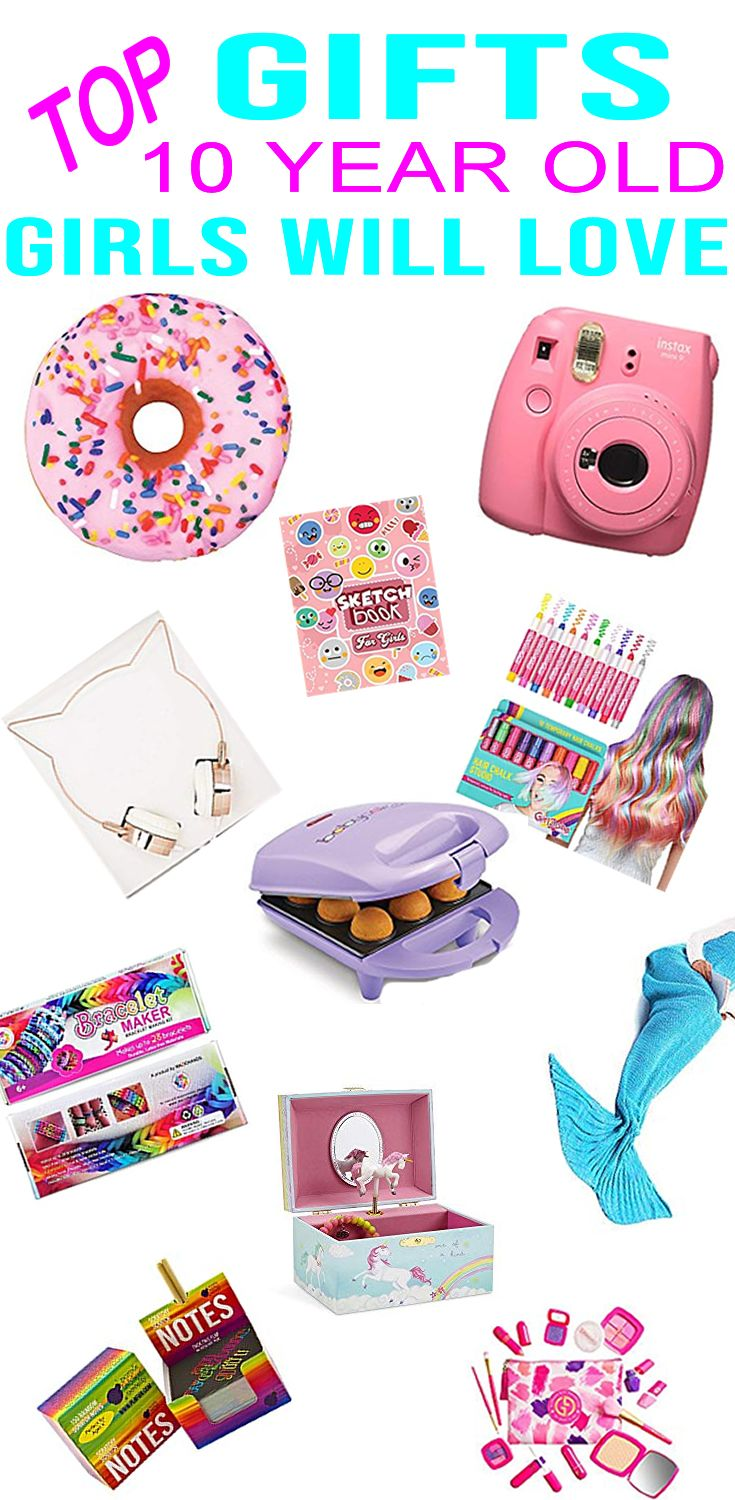 Best Gifts For 10 Year Old Girls Find Great Ideas For A Girls 10th Birthday Or Holiday 10 Year Old Gifts Birthday Presents For Girls Birthday Gifts For Kids