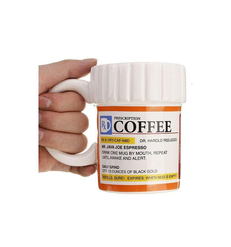 Taza mug Píldora con prescripción médica